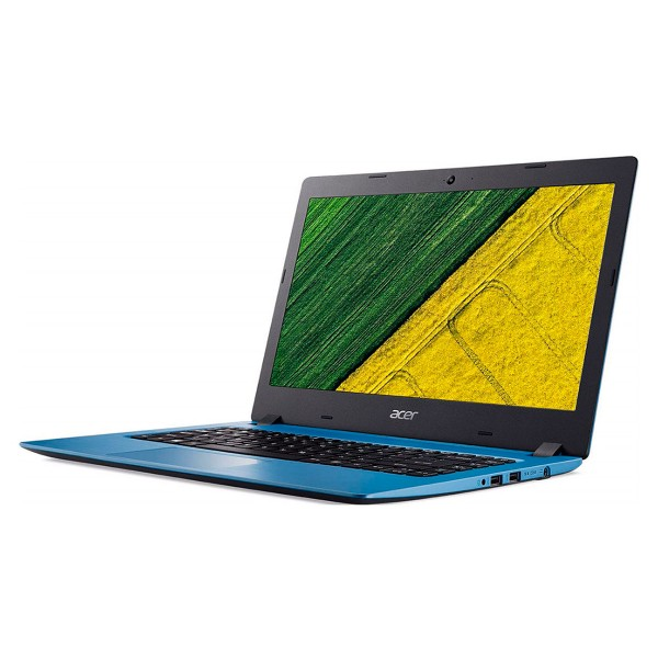 Acer aspire 1 azul portátil 14'' lcd led hd ready/n3350 1.10ghz/emmc 32gb/2gb ram/w10 s
