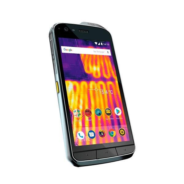 Cat s61 negro móvil resistente 4g dual sim 5.2'' ips fhd/8core/64gb/4gb ram/16mp+térmica/8mp
