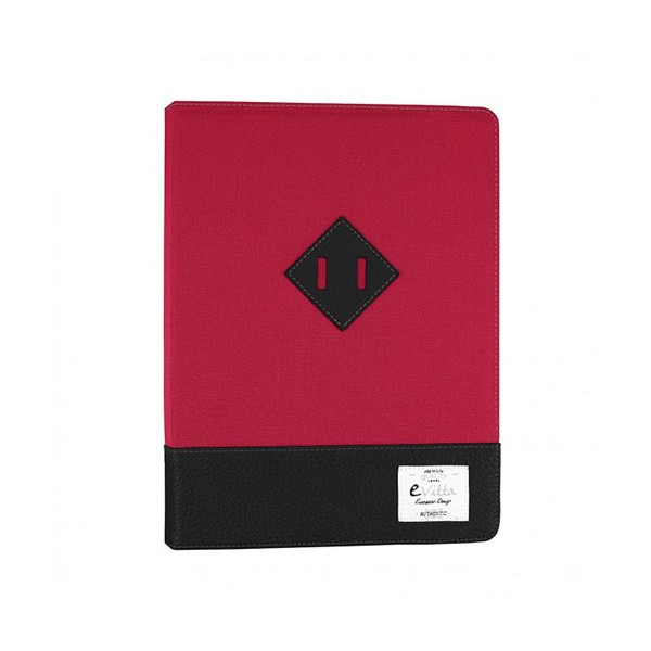 E-vitta evun000061 heritage rojo/negro funda universal 9'' a 10.1''