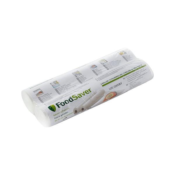 Foodsaver fsr2802 pack de 2 rollos grandes compatibles con cualquier envasadora foodsaver