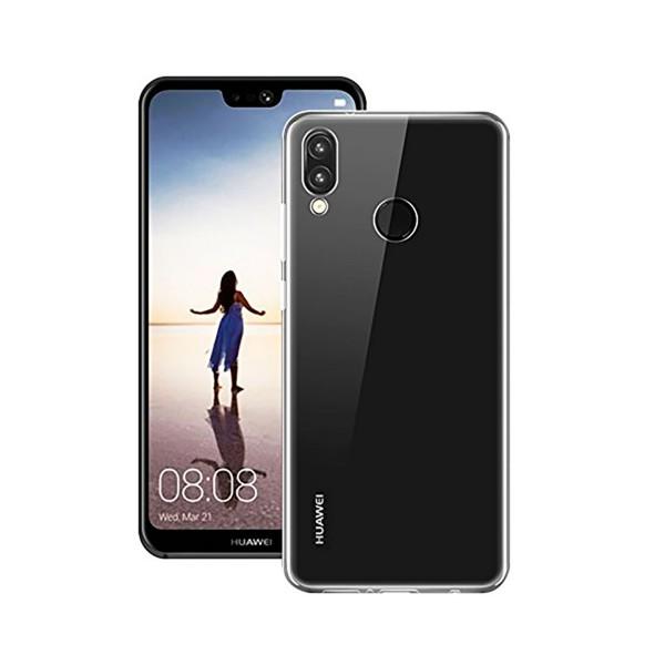 Huawei carcasa trasera transparente huawei p20 lite