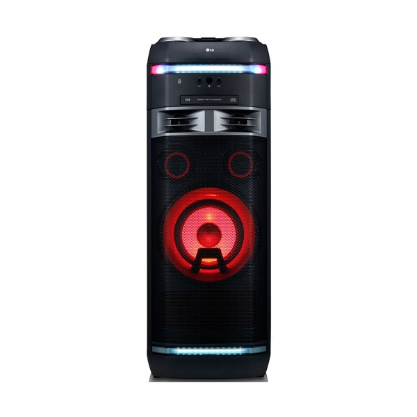 Lg xboom ok75 sistema de audio de alto voltaje 1000w bluetooth party link usb funciones dj y karaoke star