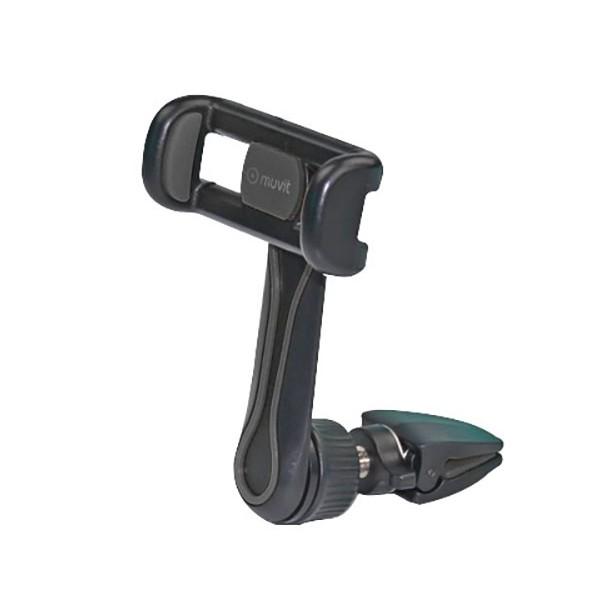 Muvit muchl0058 negro soporte de coche para móvil universal