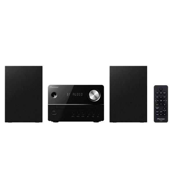 Pioneer x-em26 negro sistema de sonido hi-fi bluetooth con amplificador digital reproductor usb cd radio fm
