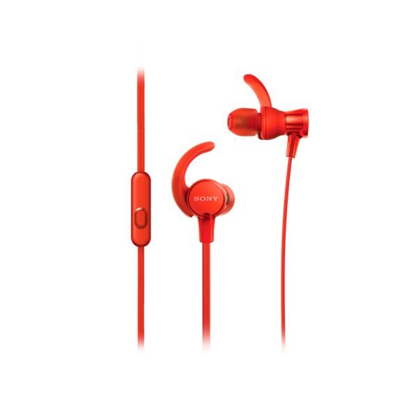 Sony mdrxb510asr rojo auriculares internos deportivos