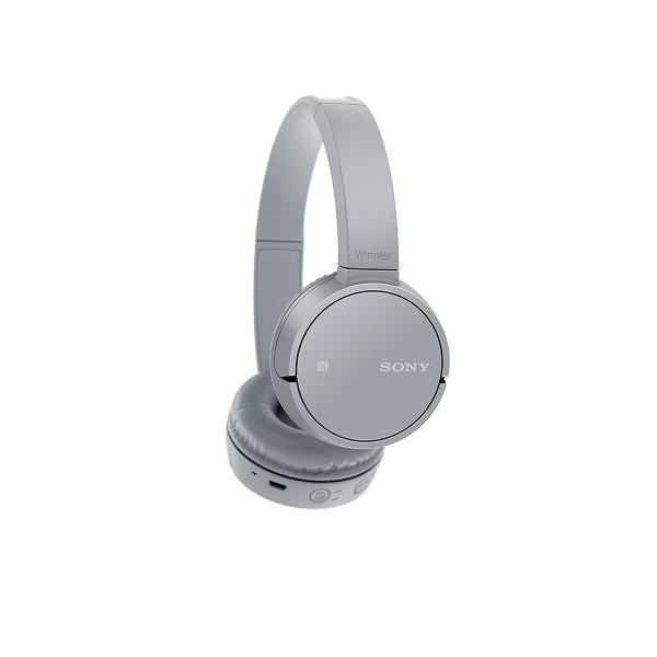 Sony wh-ch500 gris auriculares inalámbricos bluetooth nfc micrófono integrado diseño giratorio 20 horas de autonomía