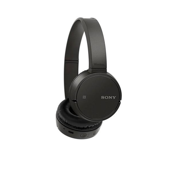 Sony wh-ch500 negro auriculares inalámbricos bluetooth nfc micrófono integrado diseño giratorio 20 horas de autonomía