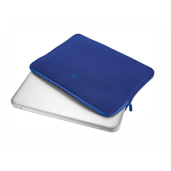 Trust primo soft sleeve azul funda protectora suave para portátiles de 11,6