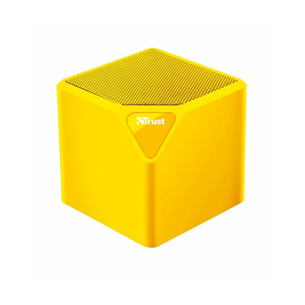Trust primo wireless bluetooth speaker amarillo mini altavoz inalámbrico 3w rms bluetooth usb microsd y aux