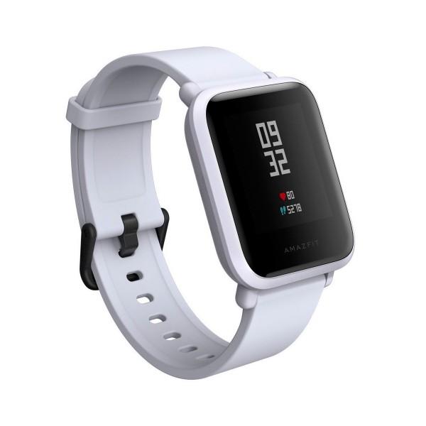 Xiaomi amazfit bip blanco smartwatch 1.28'' wifi gps bluetooth pulsómetro notificaciones inteligentes