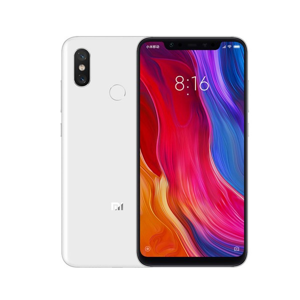 Xiaomi mi 8 blanco móvil 4g dual sim 6.21'' samoled fhd+/8core/64gb/6gb ram/12mp+12mp/20mp