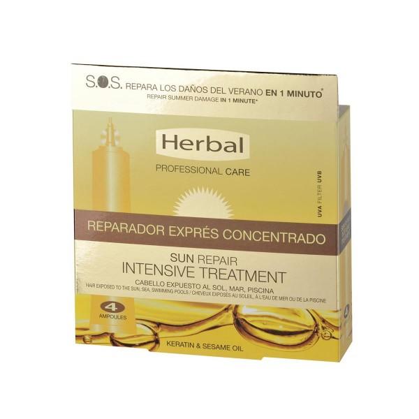 Herbal hispania sun repair tratamiento reparador express concentrad pack 4u. 48ml