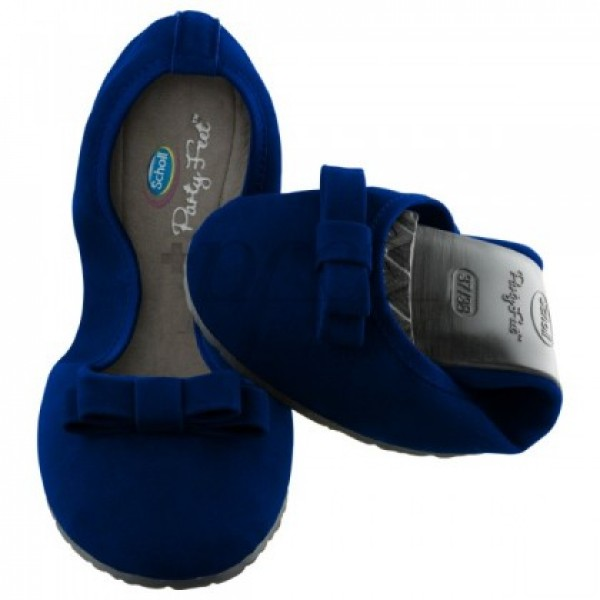 POCKET BALLERINA AZUL 35-36