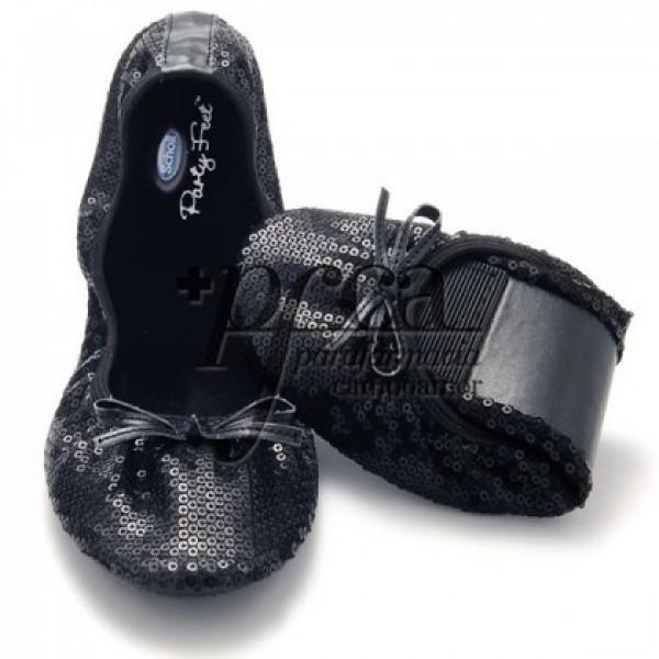POCKET BALLERINA BLACK TALLA 41/42