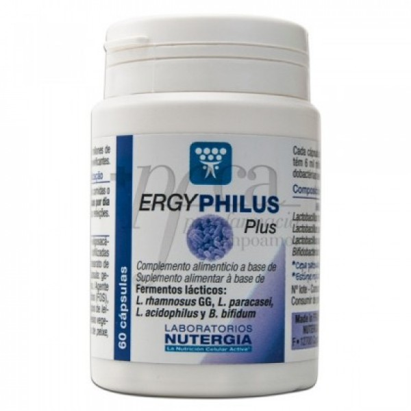 ERGYPHILUS PLUS 60 CAP NUTERGIA