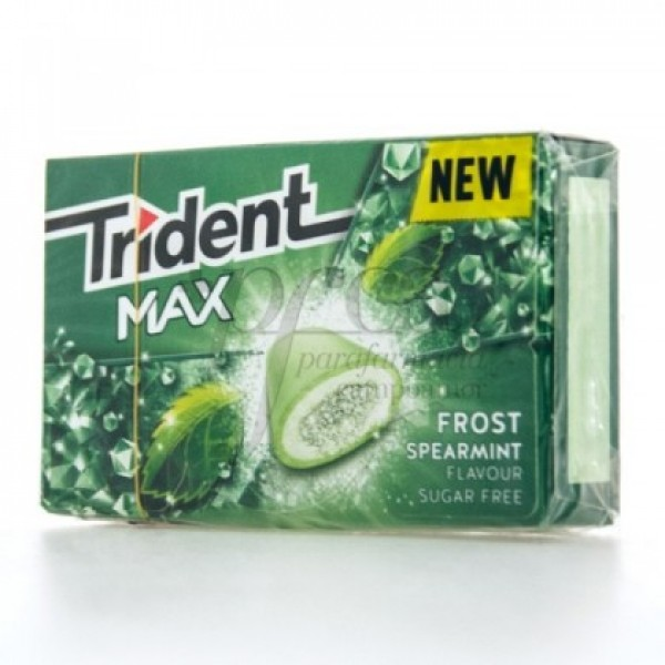 TRIDENT MAX HIERBABUENA 10 CHICLES
