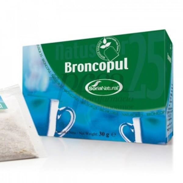 NATUSOR 25 - BRONCOPUL INFUSION R.03051