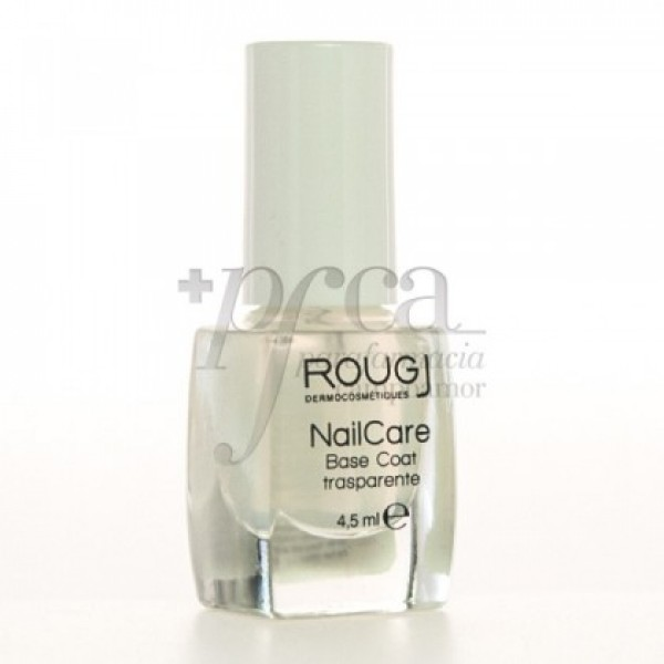 ROUGJ NAIL CARE BASE COAT TRANSPARENTE 4,5 ML 24