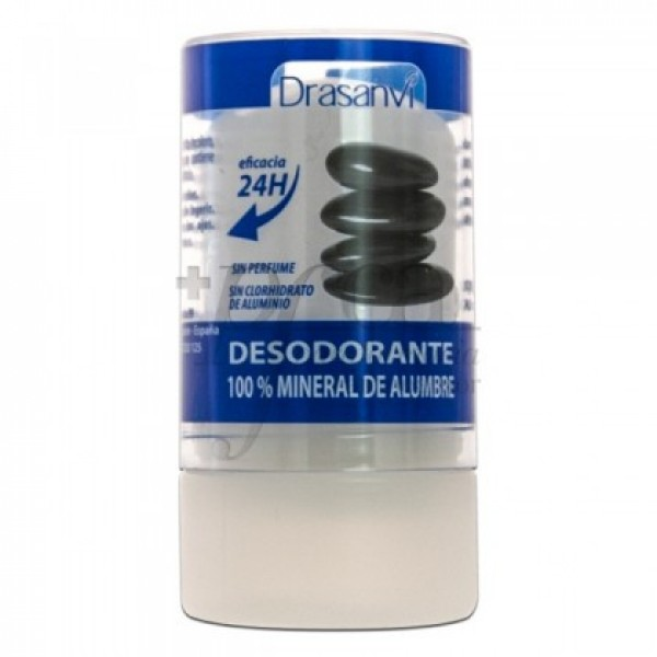 DESODORANTE MINERAL DE ALUMBRE 120G DRASANVI