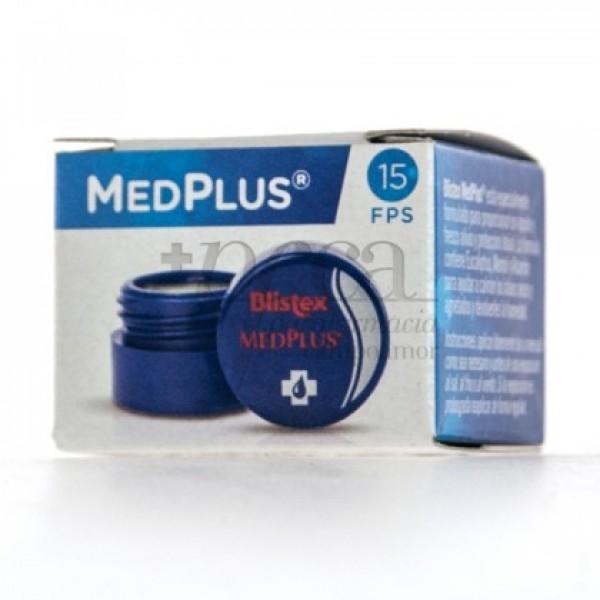 BLISTEX MEDPLUS BALSAMO SPF15 LABIOS NARIZ 7G