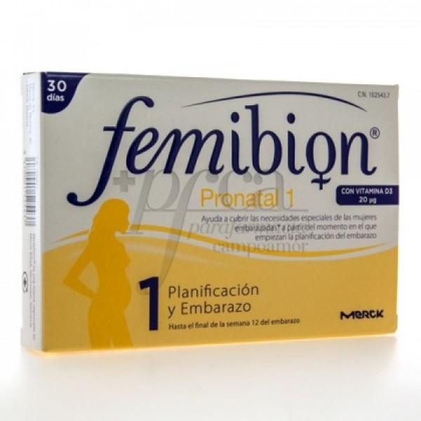 FEMIBION PRONATAL 1 30 COMP