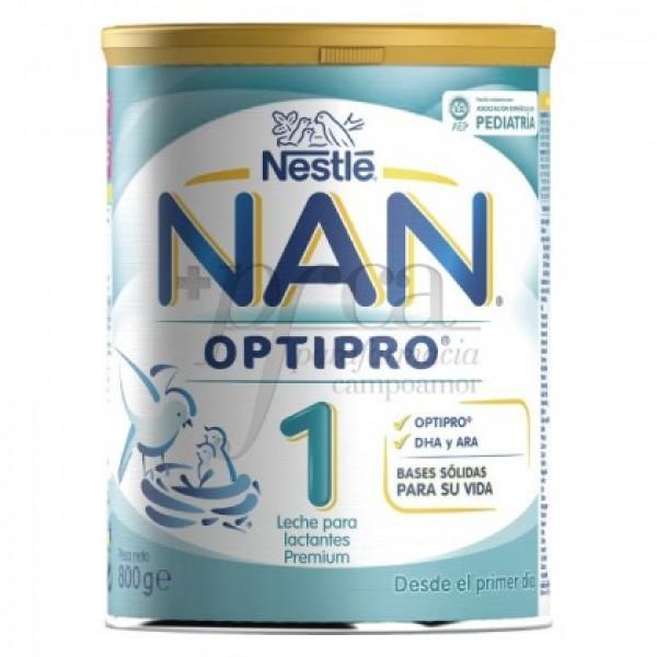 NAN 1 OPTIPRO LECHE 0M+ 800G