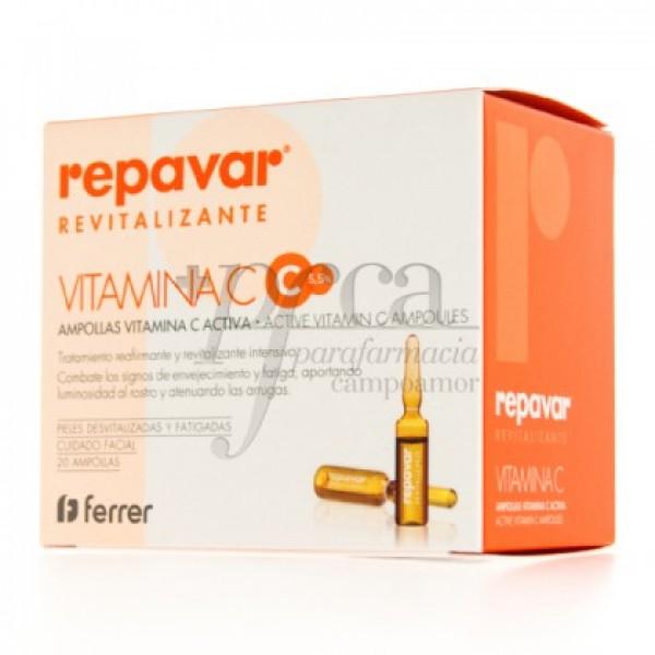 REPAVAR REVITALIZANTE VITAMINA C 20X 1,5ML