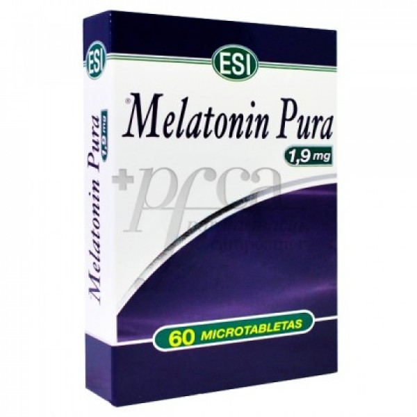 MELATONIN 1,9 MG 60 COMPS ESI