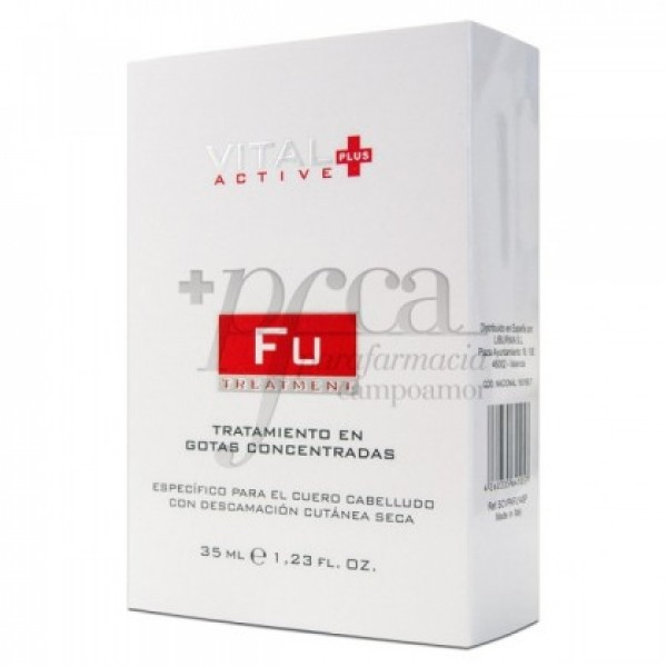 VITAL PLUS ACTIVE FU DESCAMACION SECA 35ML