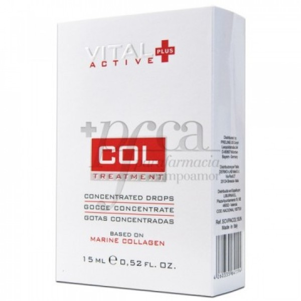 VITAL PLUS ACTIVE COL COLAGENO MARINO 15ML
