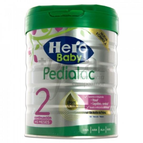 HERO BABY PEDIALAC 2 LIPIDOS LACTEOS 6M+ 800G