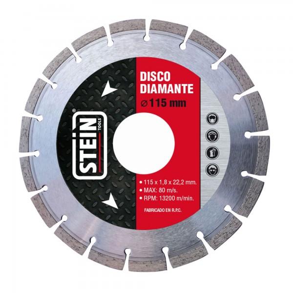 Disco stein diamante segmentado 115 mm.