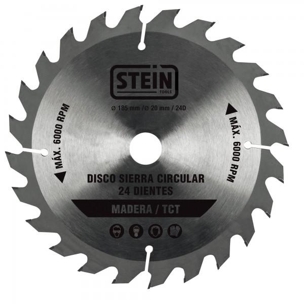Disco sierra circular 180 mm. 24 dientes