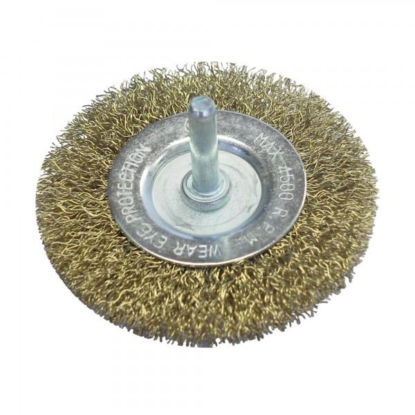 Cepillo bloque espiga 6 mm. 100 mm.