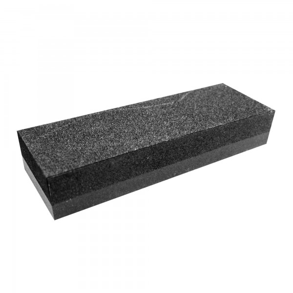 Piedra afilar rectang. carburo 15 cm.
