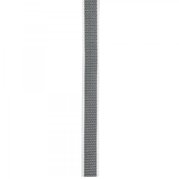 Cinta persiana 14 mm. 50 m. gris/beige