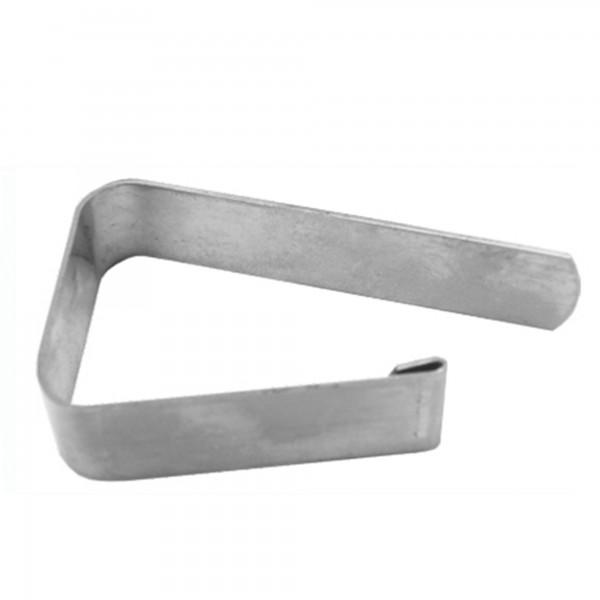 Sujetamanteles inox. 0,8 mm.