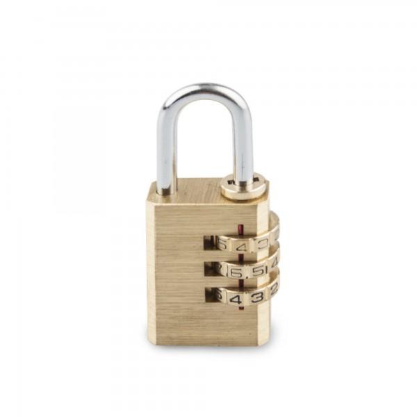 Candado combin. handlock 3 num. 20 laton
