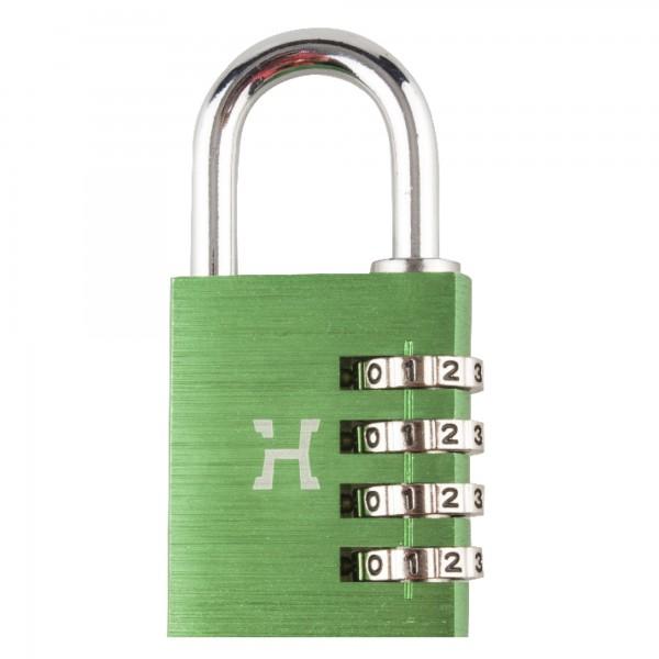 Candado alum.comb.handlock 40mm.4n verde