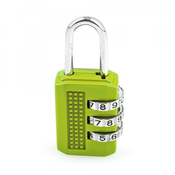 Candado combin. handlock 3 num. 25 verde