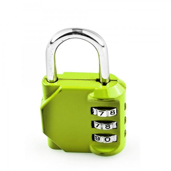 Candado combin. handlock 3 num. 30 verde