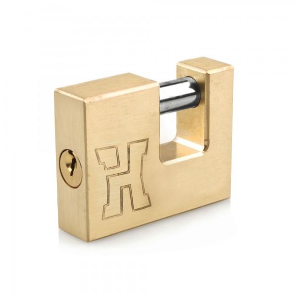 Candado laton tipo u handlock 70 mm.