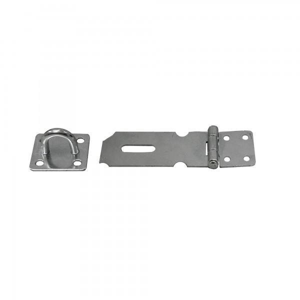 Portacandados abatible zincado 100 mm.