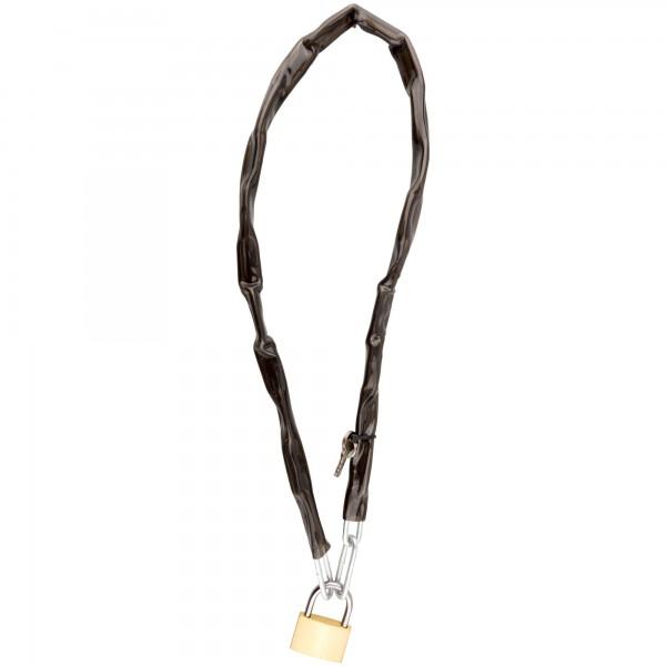 Candado cadena 4mm. x 90cm.