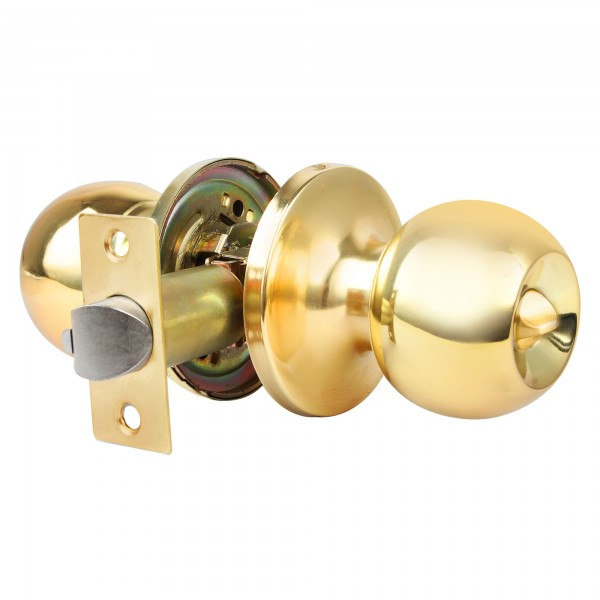 Pomo puerta handlock cil. baño 60/70 l/m