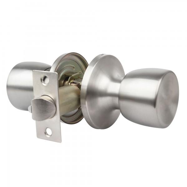 Pomo puerta handlock tub. paso 60/70 c/m