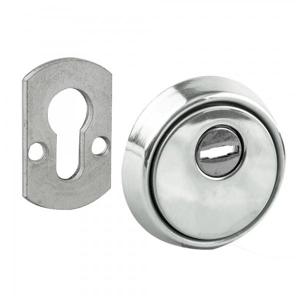 Escudo protect.cilindro niquel handlock