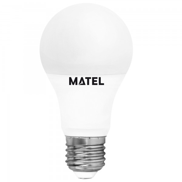 Bomb.led estandar  e27  8w.fria