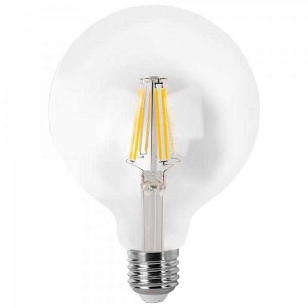 Bomb.led filament.globo  g95 cla.e27 4wf