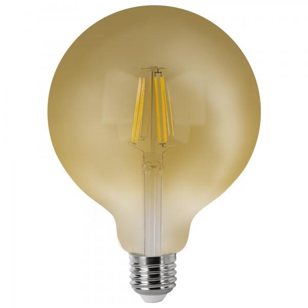 Bomb.led filam.vintage globo g125 e27 6w